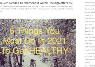 Health and Wellness Website (7)