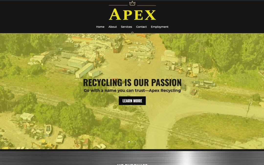 Apex Recycling Website Design