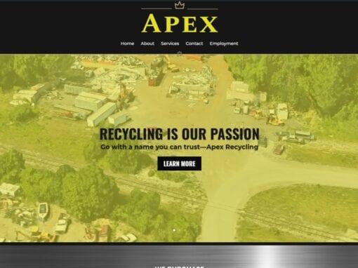 Apex Recycling Website Design