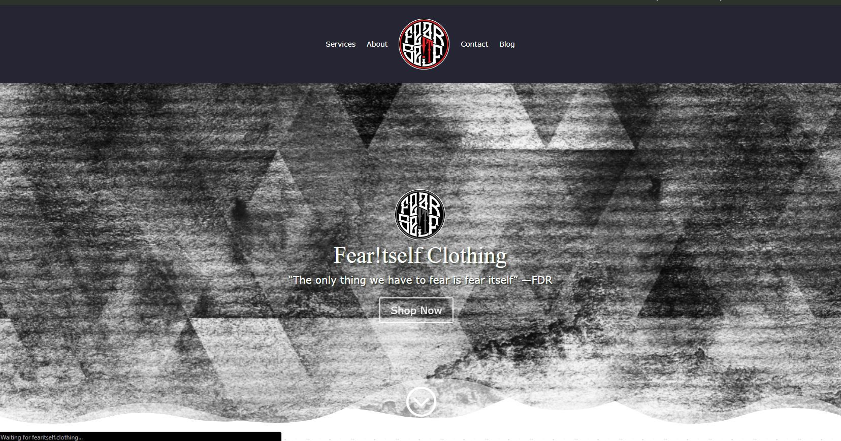 Fear Itself Clothing - Ecommerce Website (1)