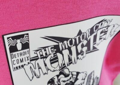 Motor City Monster - Baby Onesie (1)