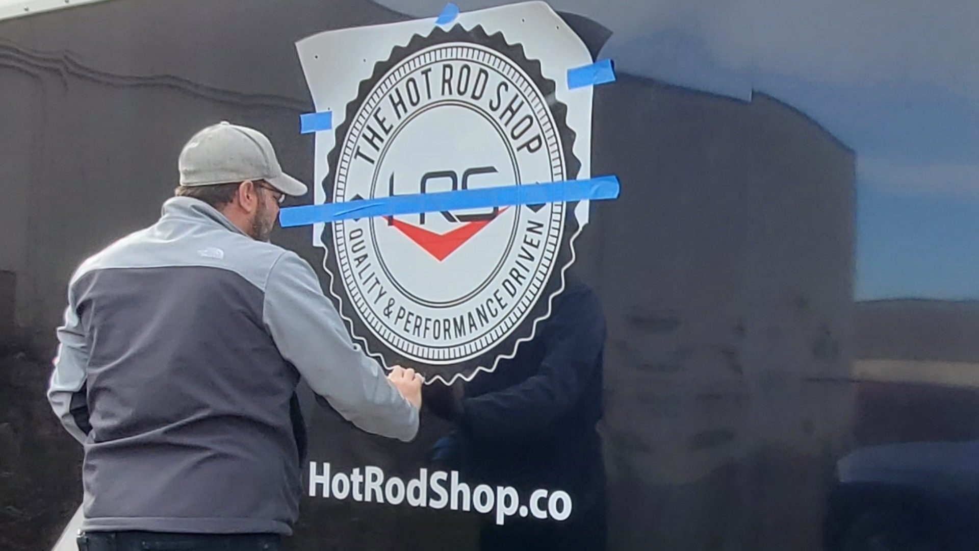 The Hot Rod Shop in Troy Michigan - Car Trailer Vinyl Graphics (5)