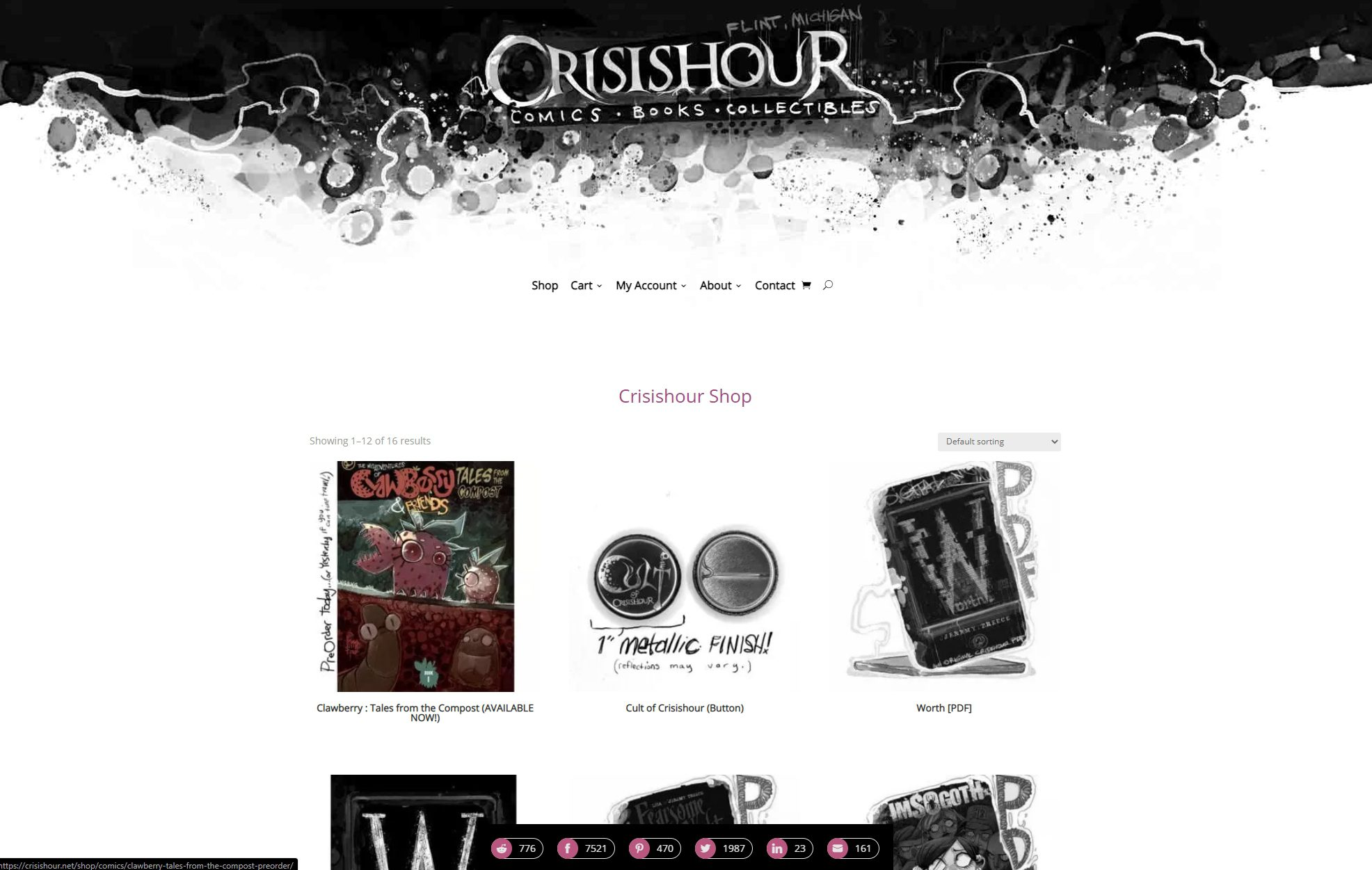 Crisishour Productions - shop