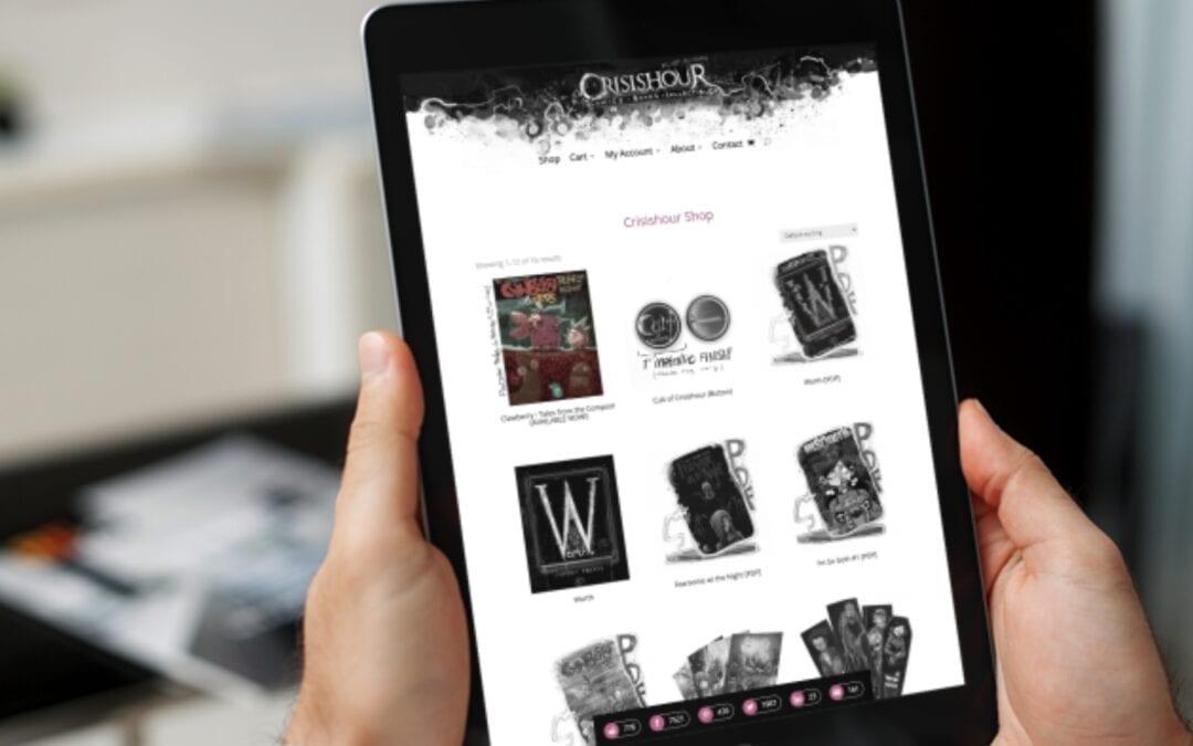 Crisishour Productions – 2021 eCommerce Website