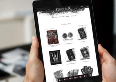 Crisishour Productions – 2021 eCommerce Website