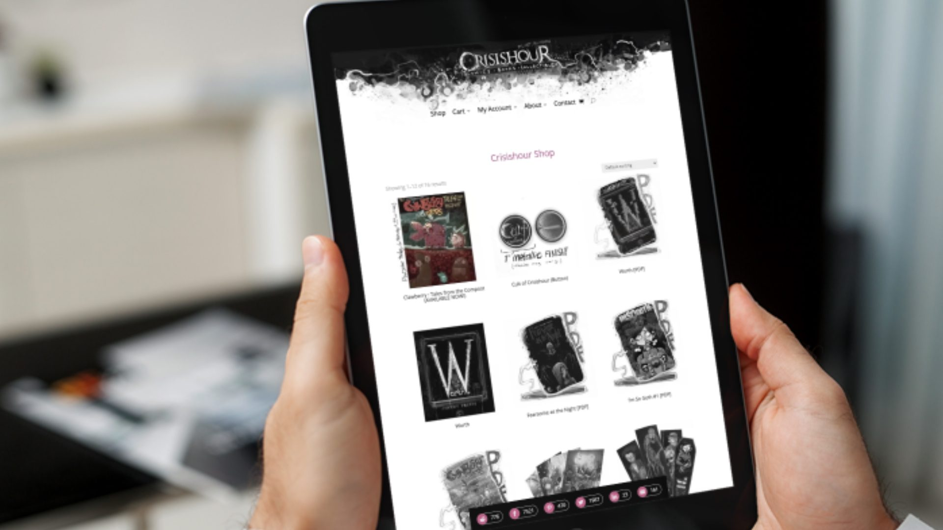 Crisishour - ecommerce website design (1)