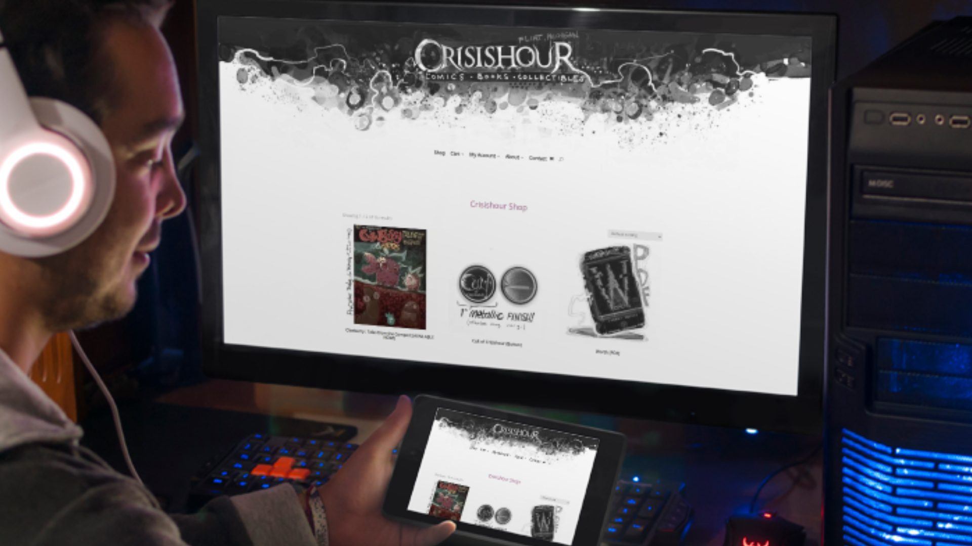 Crisishour - ecommerce website design (4)
