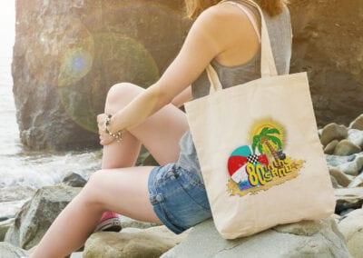 Music Festival – Printed Tote Bags
