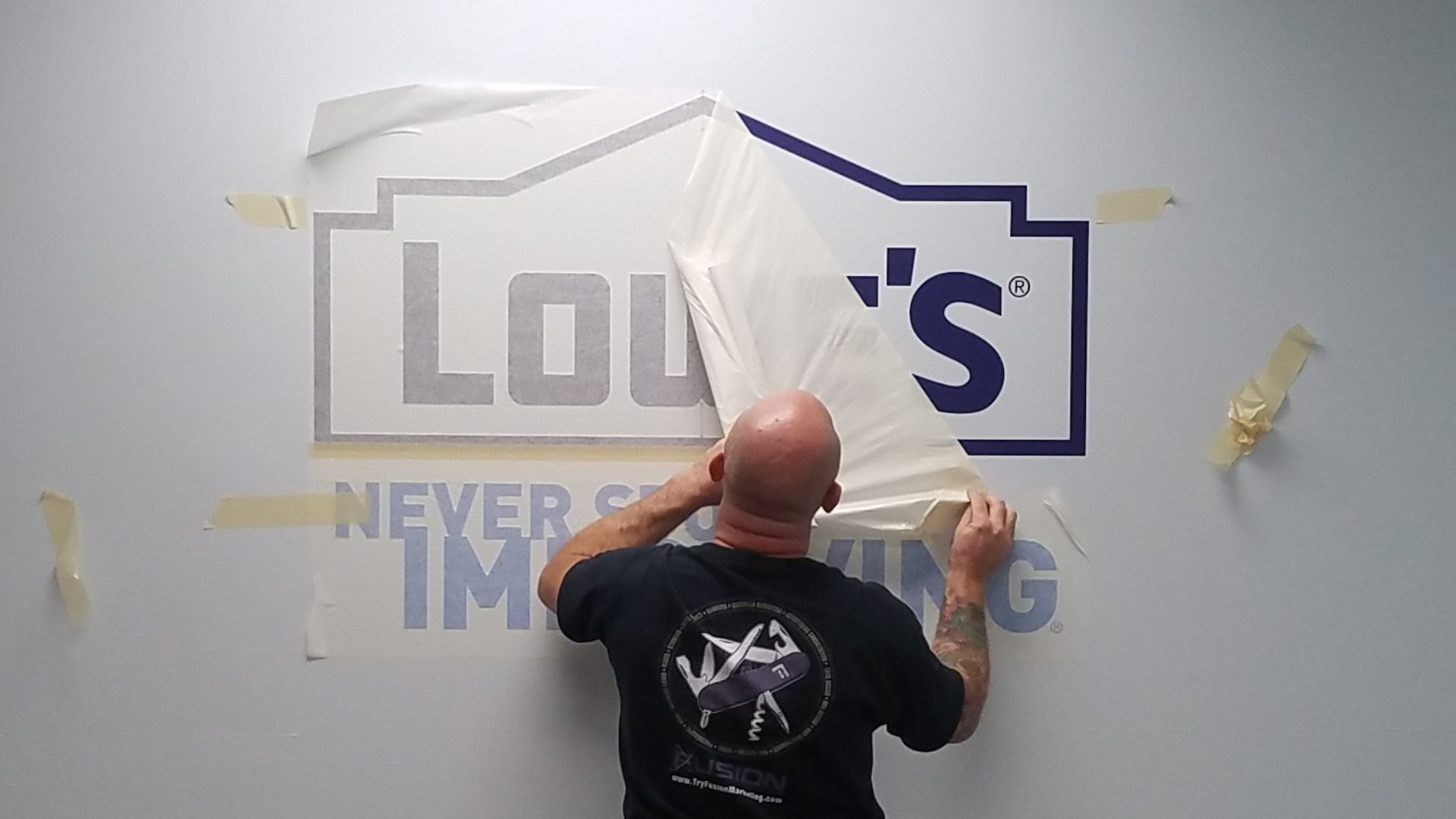 Lowes - Vinyl Wall Graphics (2)