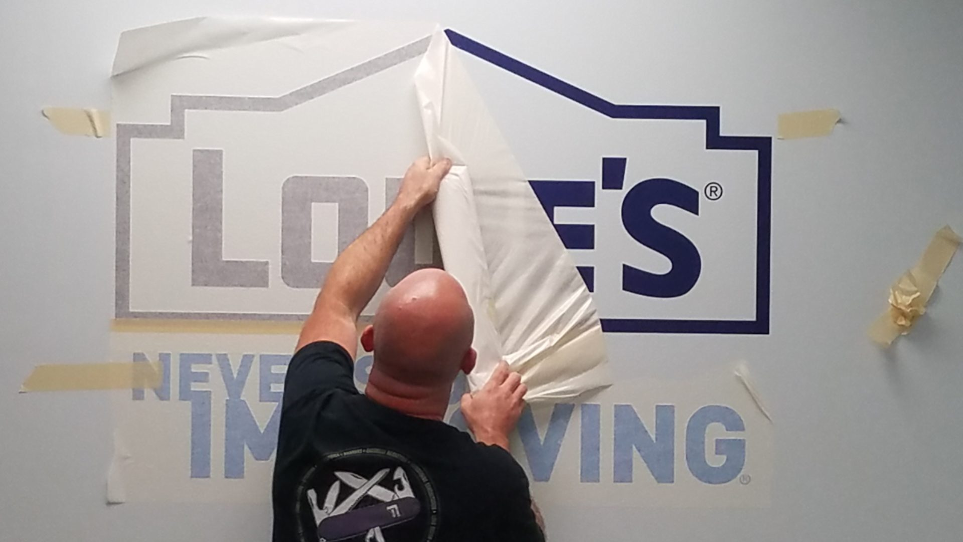 Lowes - Vinyl Wall Graphics (3)