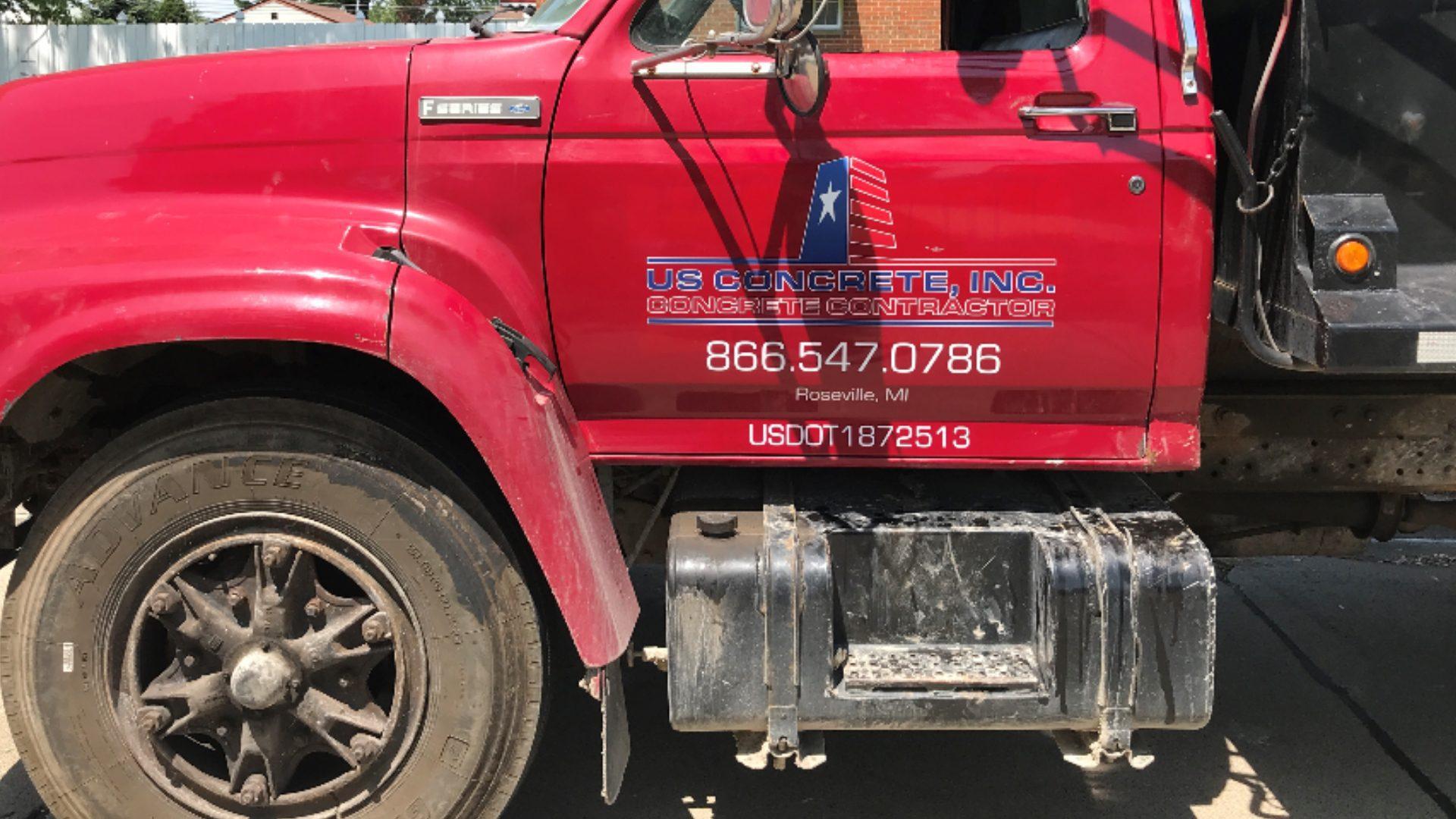 US Concrete - Dump Truck Graphics (1)