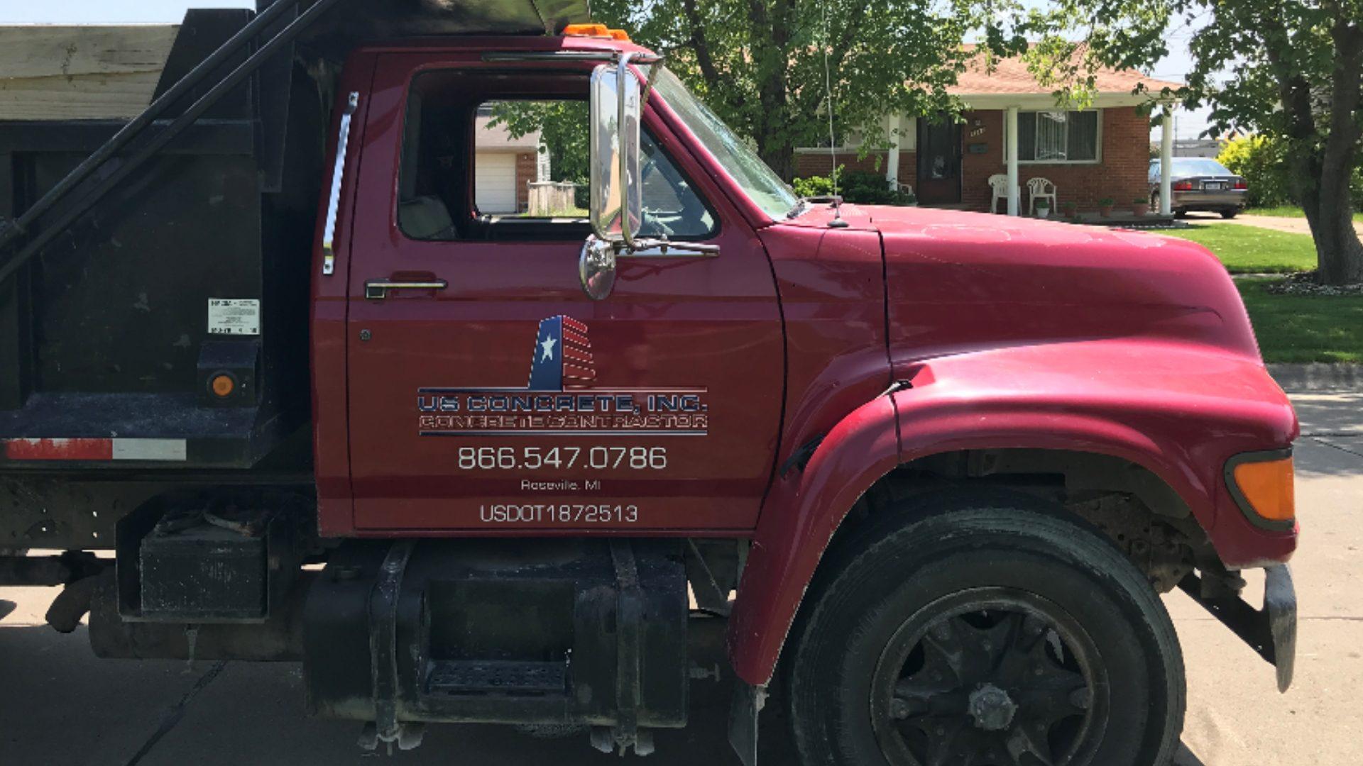 US Concrete - Dump Truck Graphics (2)