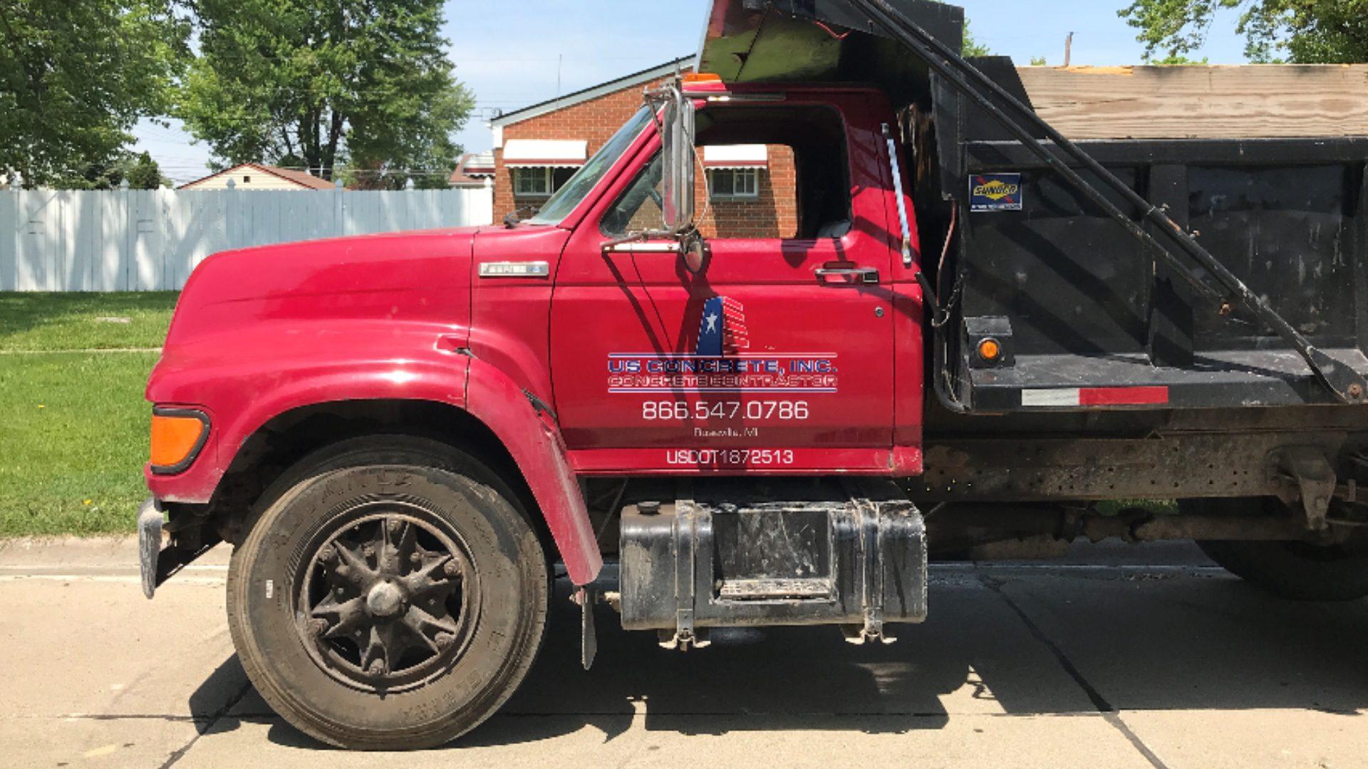 US Concrete - Dump Truck Graphics (3)