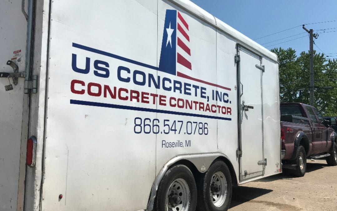 US Concrete – Fleet Graphics
