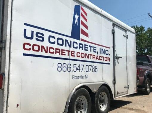 US Concrete – Fleet Graphics