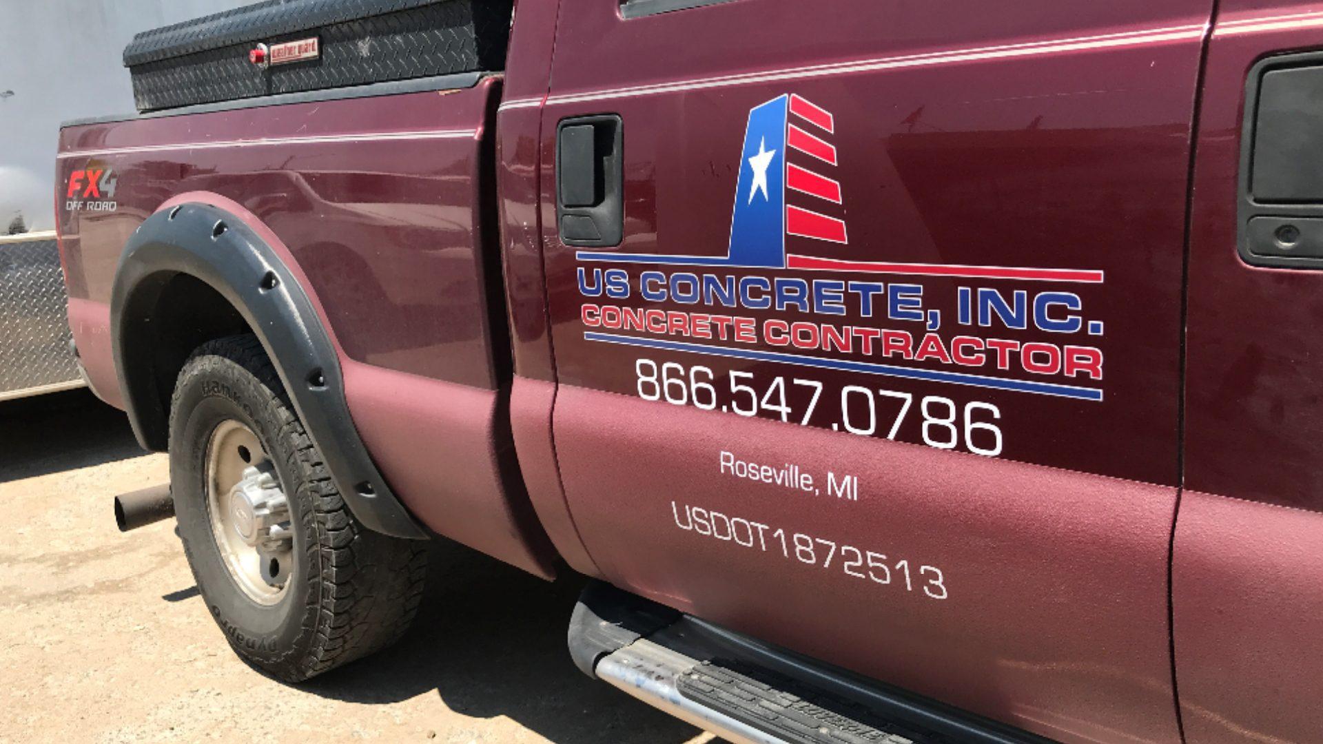US Concrete - Truck Graphics (1)