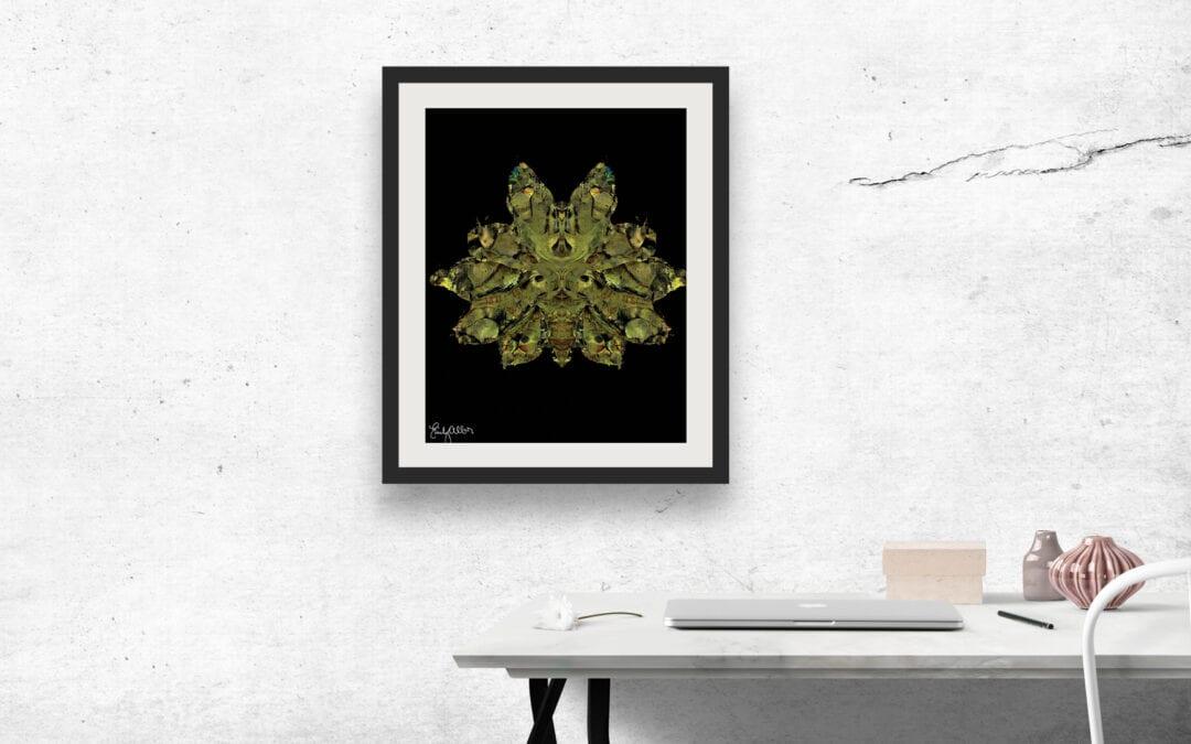 Emily Alber Art – Green Moth Art