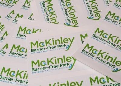 McKinley Park – Logo Stickers