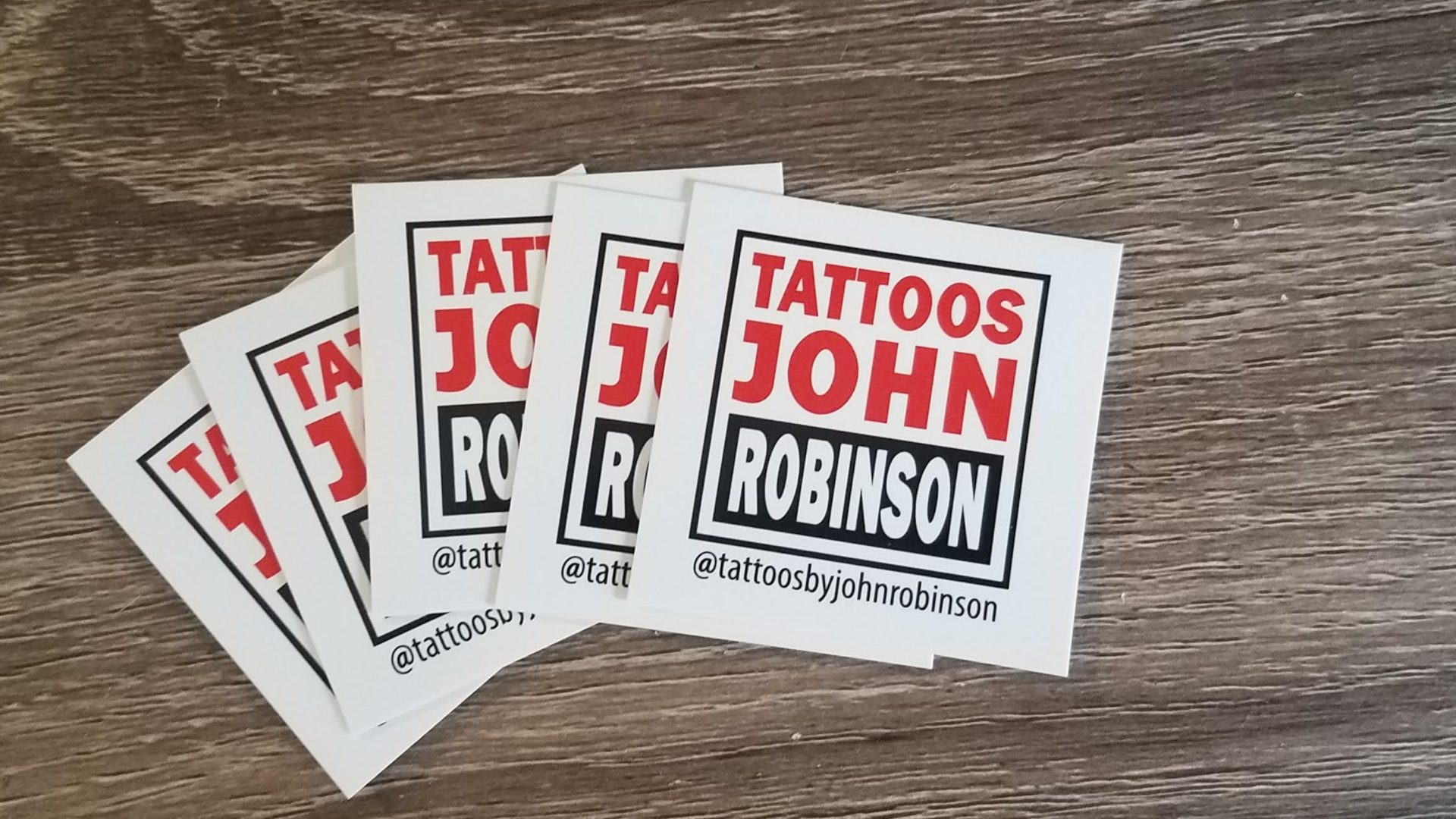 Square Business Cards for Tattoo Artist (5)