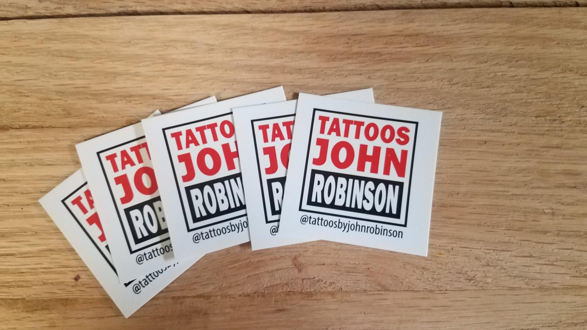 Square Business Cards for Tattoo Artist (7)