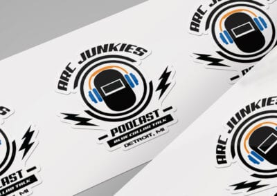Arc Junkies Podcast – Promotional Stickers