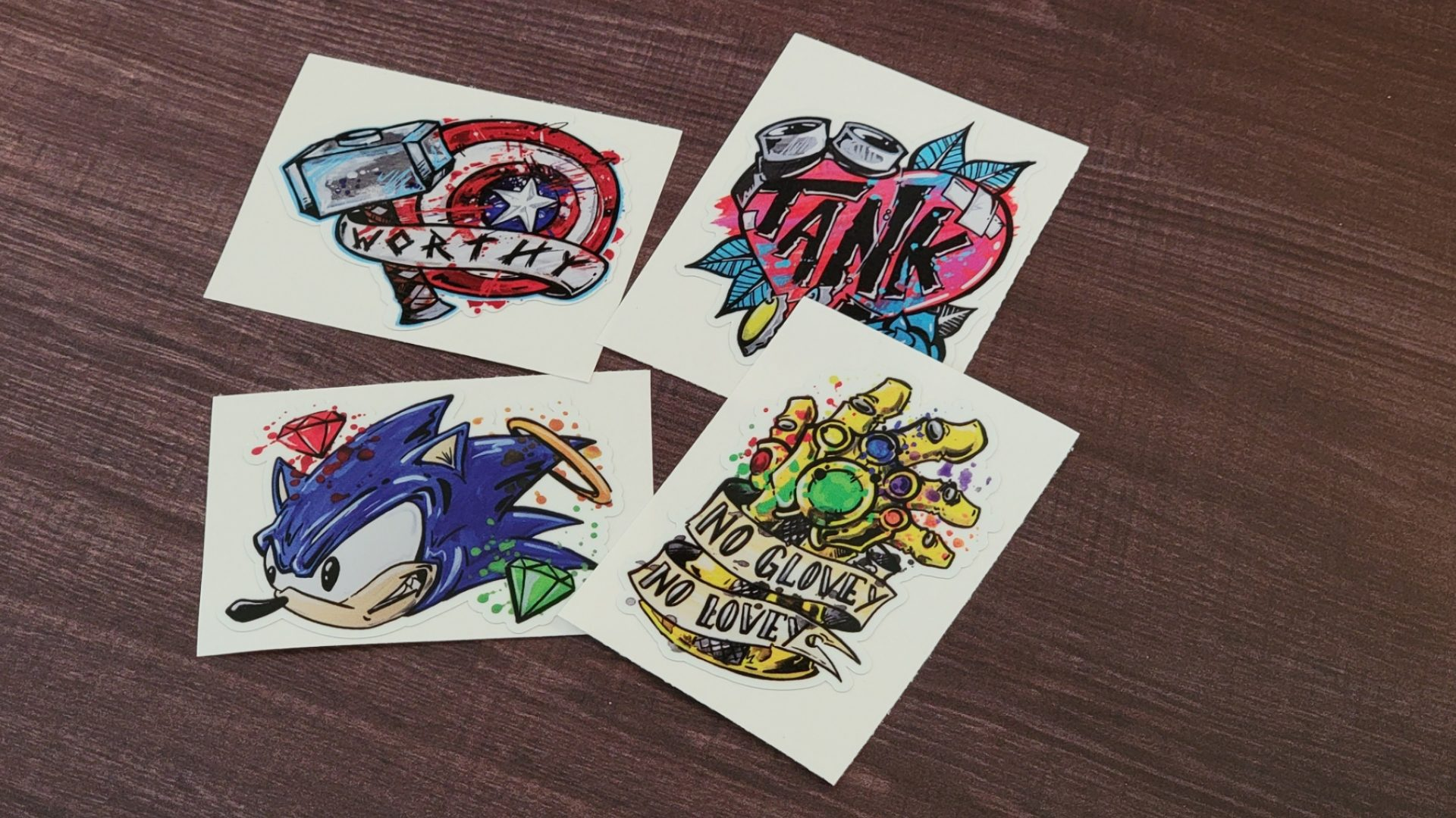 Comic Artist Slap Stickers 1