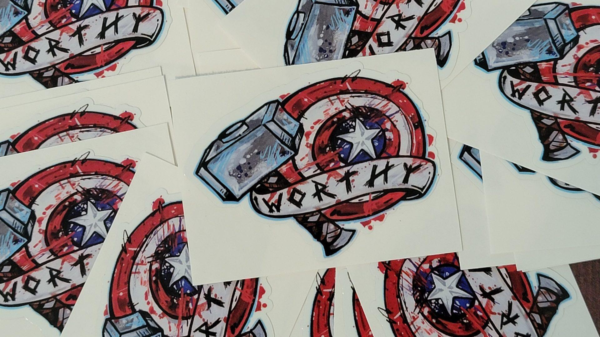 Comic Artist Slap Stickers 4