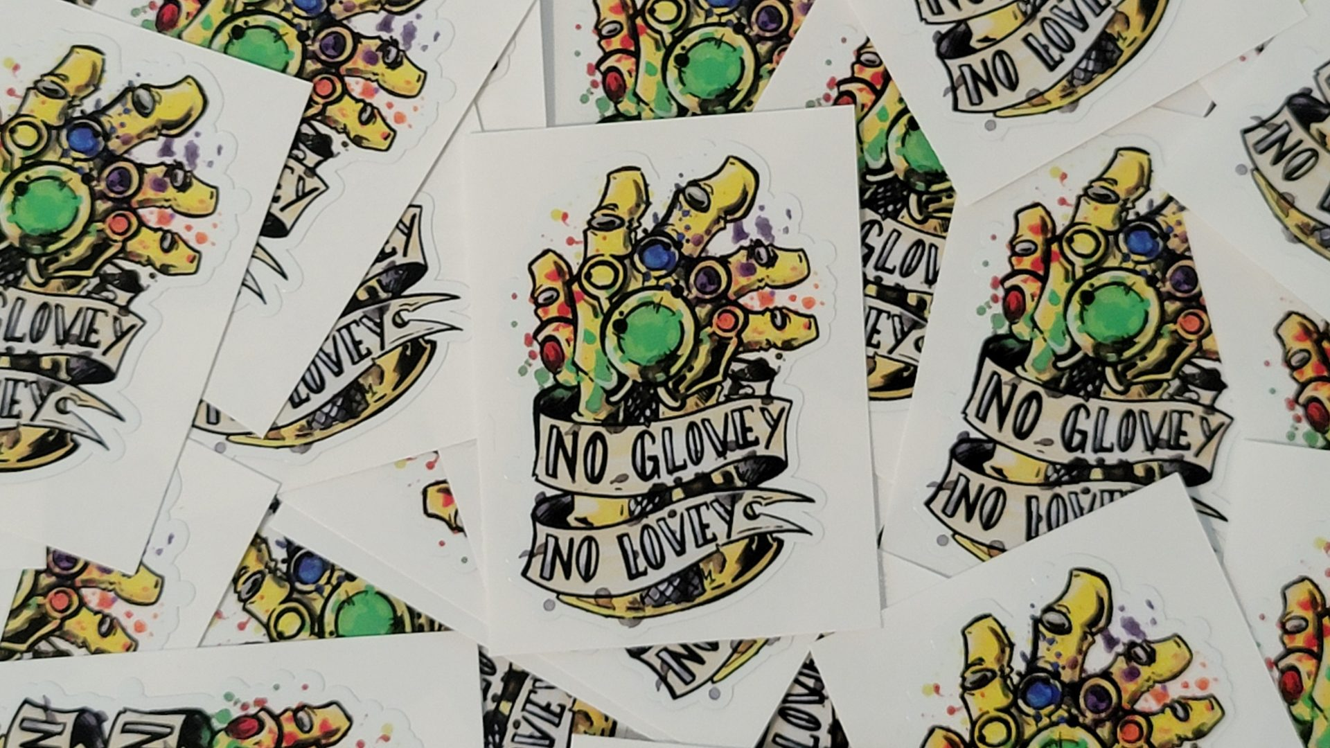Comic Artist Slap Stickers 6