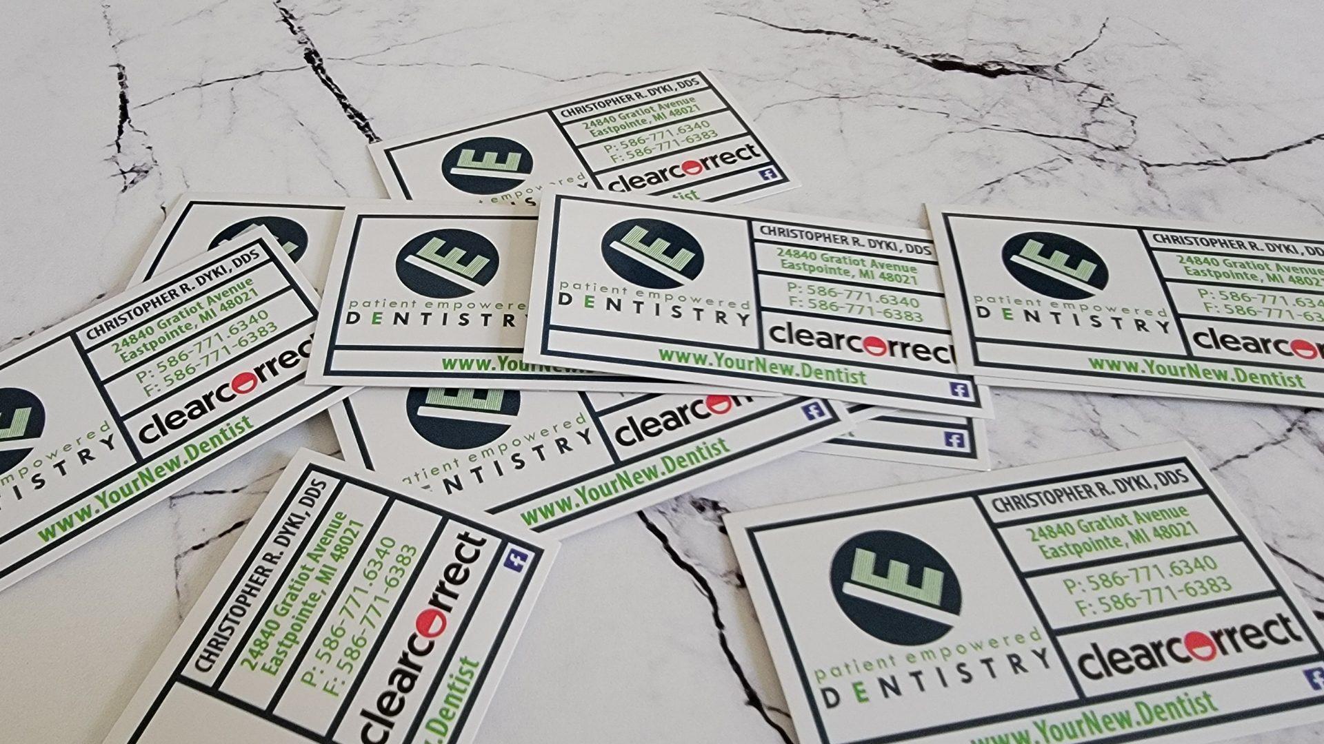 Dentist Appoitment Cards 3