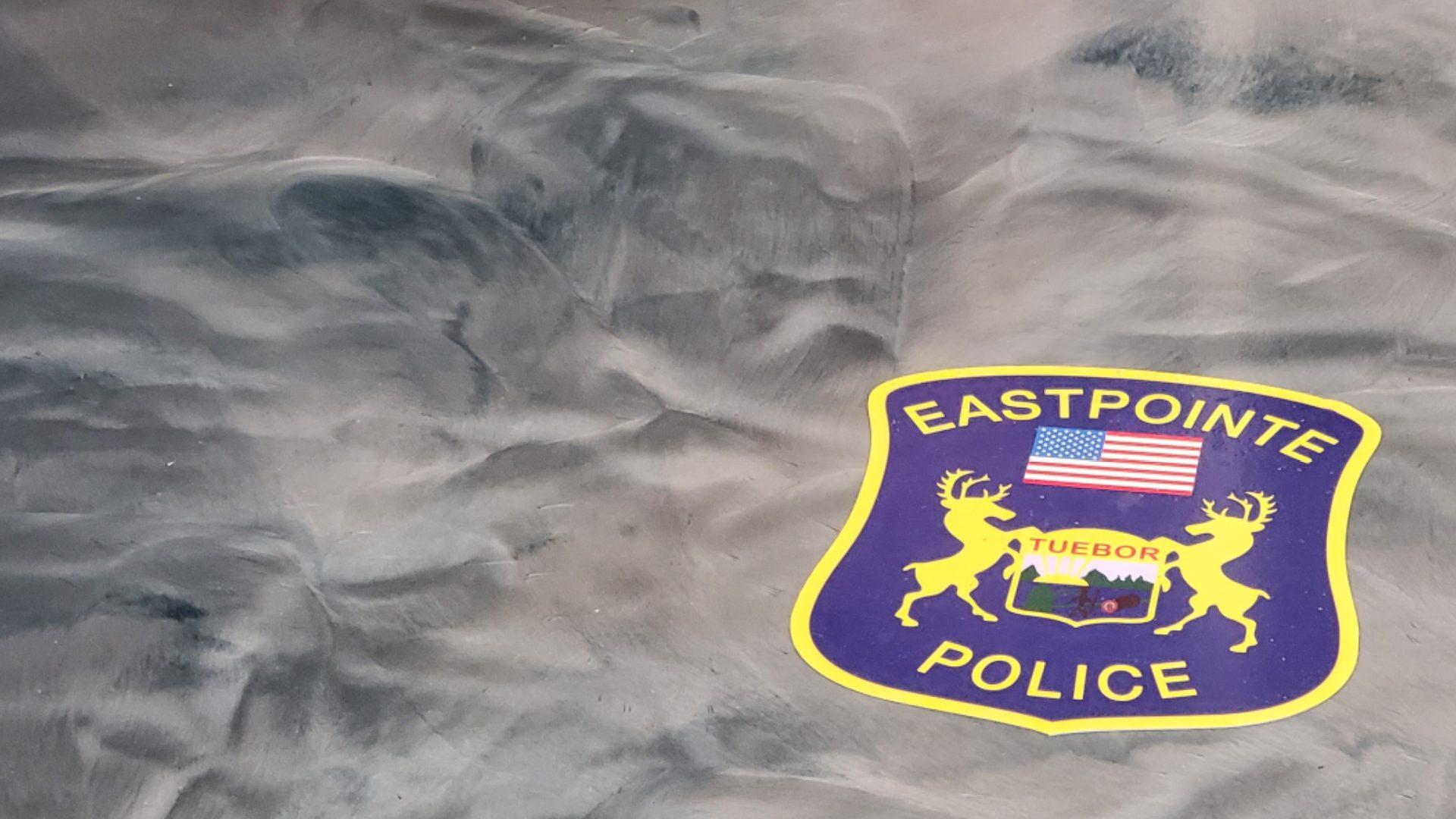Eastpointe Police Epoxy Floor Graphic 4