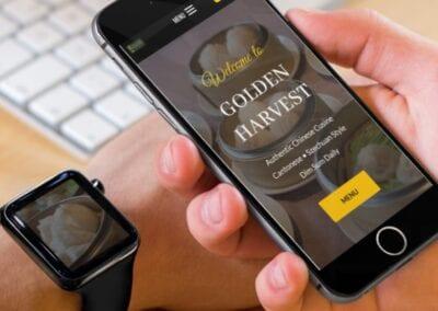 Golden Harvest – Restaurant Website