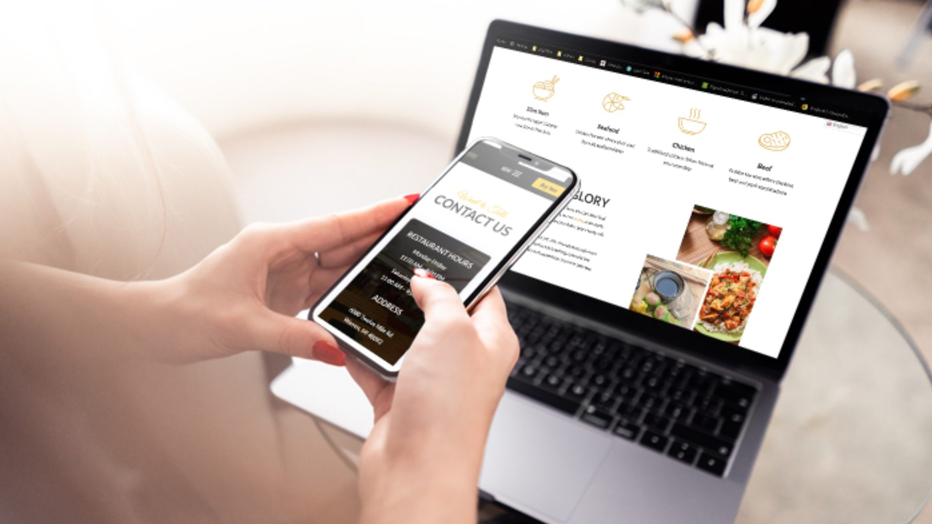 Responsize Food Website