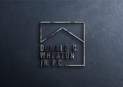 Donald C. Wheaton Jr. P.C.  – Logo Design